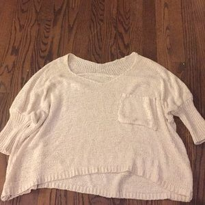 Comfy light sweater perfect for cool nights